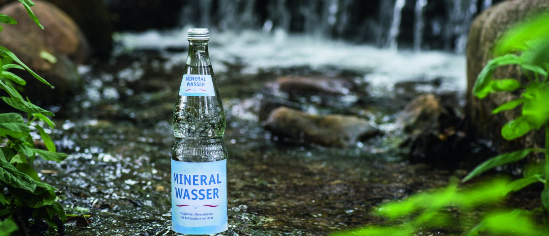 Naturprodukt Mineralwasser entdecken