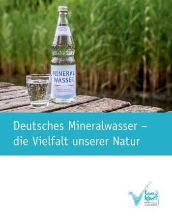 """Broschüre """"Deutsches Mineralwasser – die Vielfalt unserer Natur"""""""
