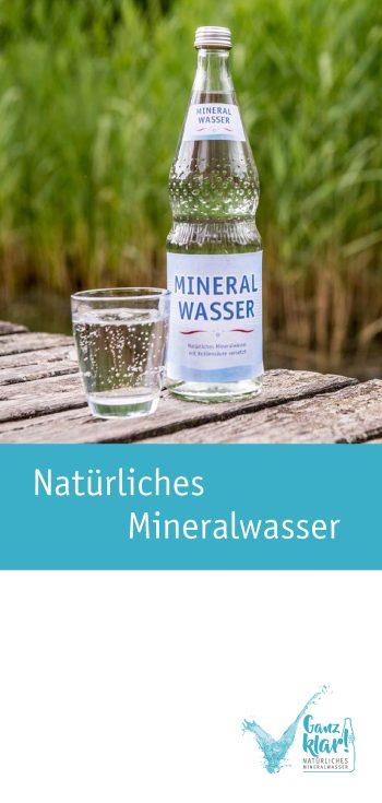 """Faltblatt """"Natürliches Mineralwasser"""""""
