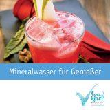 """Broschüre """"Mineralwasser für Genießer"""""""