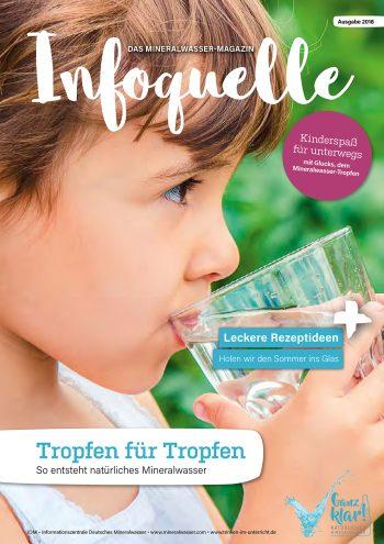 """Mineralwasser-Magazin """"Infoquelle 2018″"""
