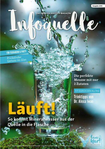 """Mineralwasser-Magazin """"Infoquelle 2019"""""""