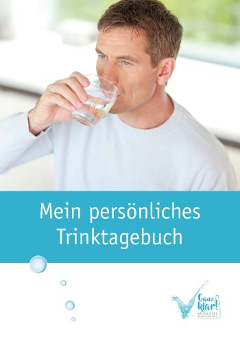 """Faltblatt """"Mein persönliches Trinktagebuch"""""""