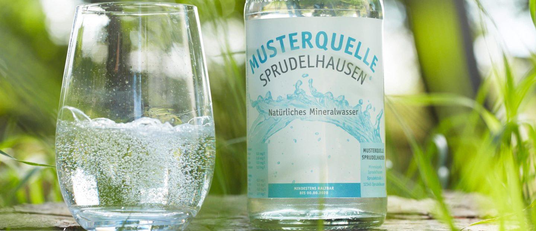Naturprodukt Mineralwasser